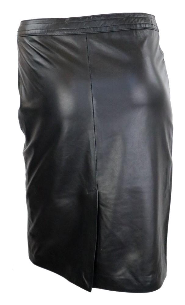 Damen-Lederrock 095 Skirt, XL, Bild 4