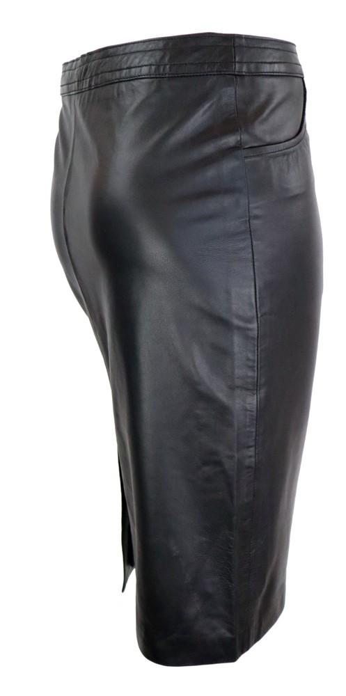 Damen-Lederrock 095 Skirt, XL, Bild 3