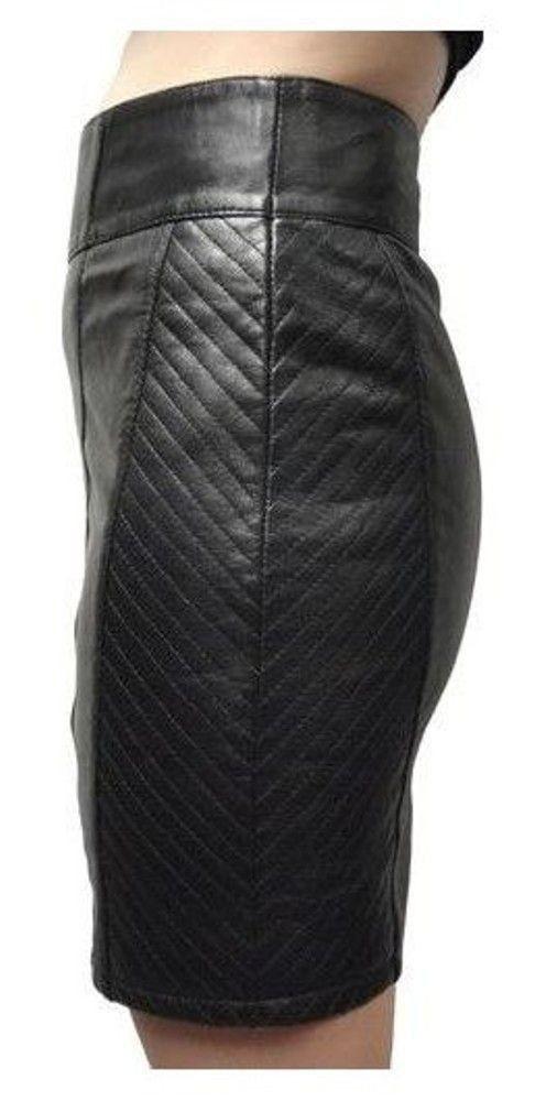 Damen-Lederrock 1264 Skirt in 6 Größen, Bild 2