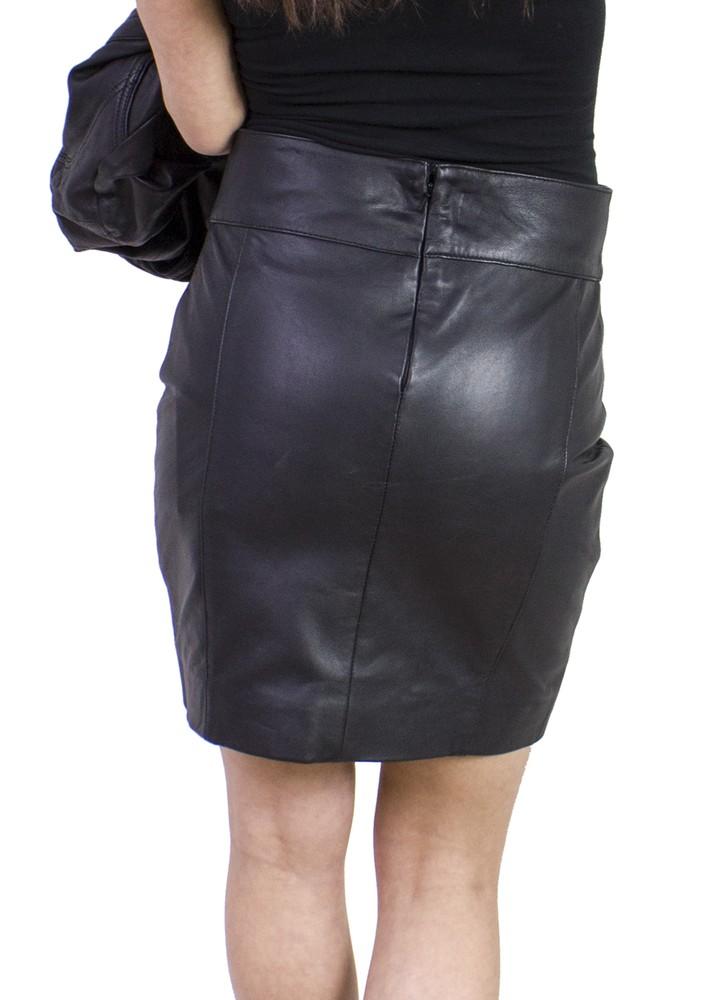Damen-Lederrock 1265 Skirt in 6 Größen, Bild 3