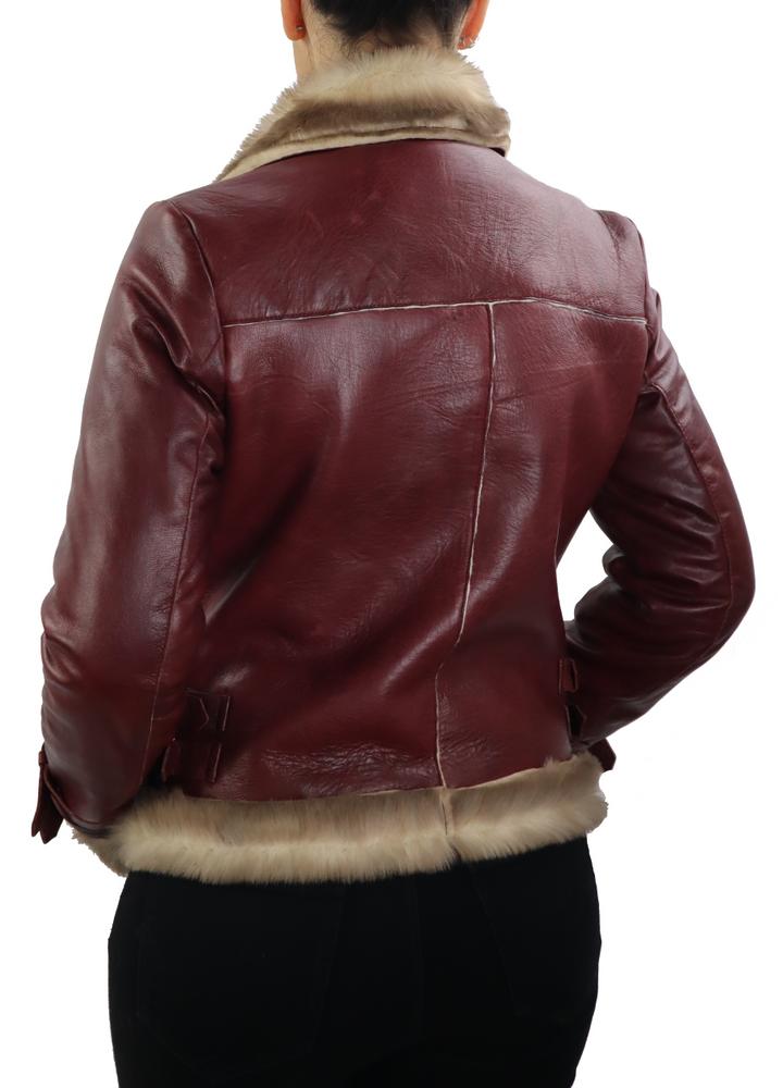 Damen-Lederjacke Amy 2 in 6 Größen, Bild 5