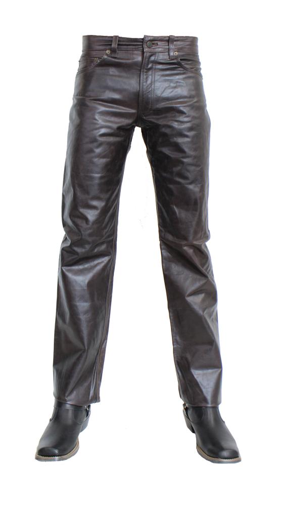 Herren-Lederhose Jeans 06 in 13 Größen, Bild 1