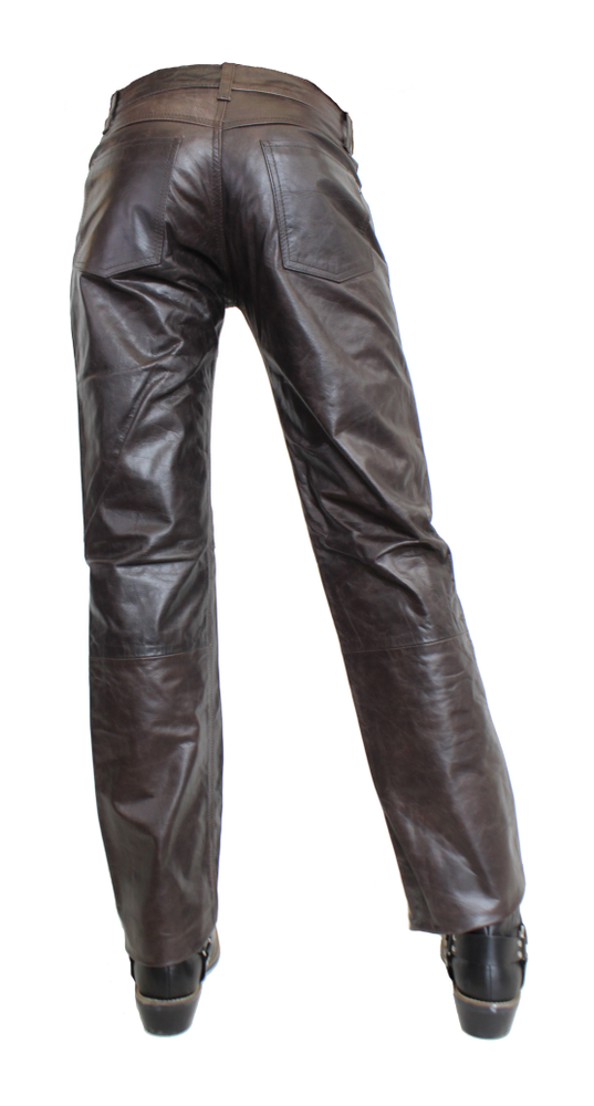 Herren-Lederhose Jeans 06 in 13 Größen, Bild 3