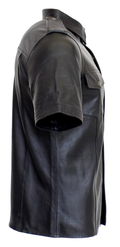Lederhemd Kurzarm in 9 Größen, Bild 2