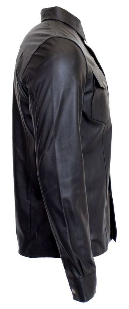Lederhemd Langarm in 10 Größen, Bild 2