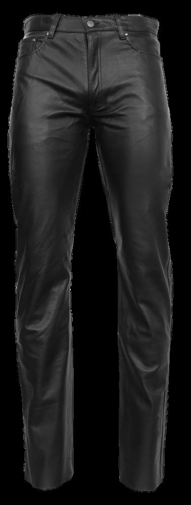 Herren-Lederhose No. 3 TR - Cow Waxy, Schwarz in 2 Farben, Bild 6