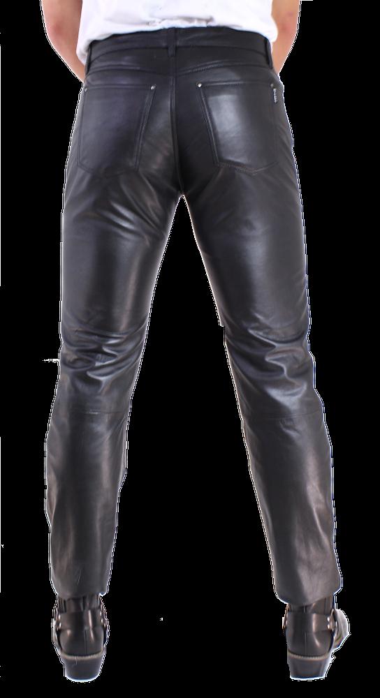 Herren-Lederhose No. 3 TR Jeans in 15 Größen, Bild 4