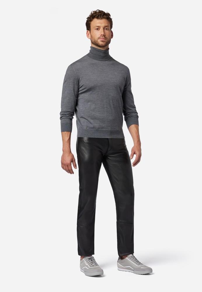 Herren-Lederhose No. 3 TR Jeans in 15 Größen, Bild 2