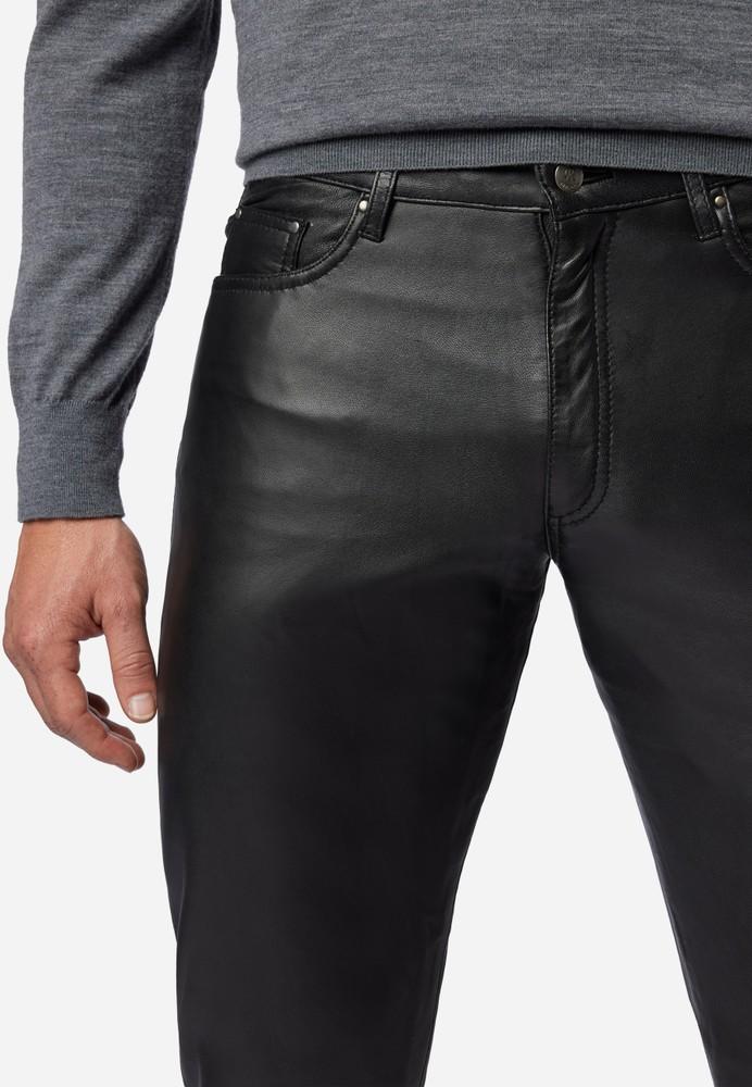 Herren-Lederhose No. 3 TR Jeans in 15 Größen, Bild 5