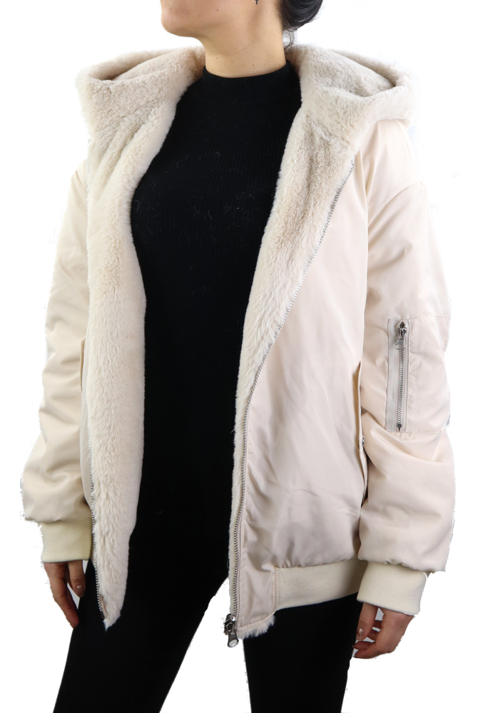 Textil-Jacke Nuha, Elfenbein in 1 Farben, Bild 6