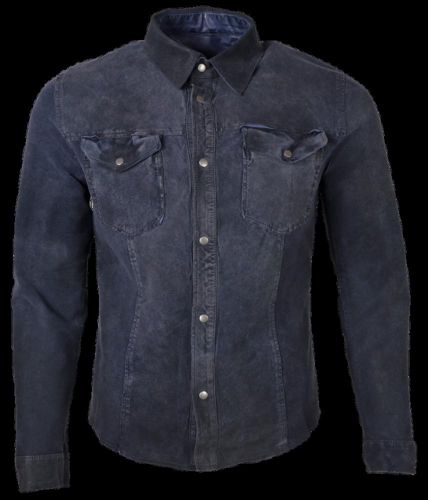 Reverse Shirt, Blau in 3 Farben, Bild 2