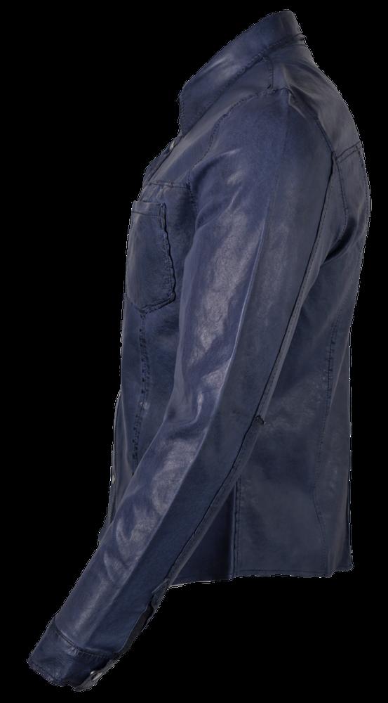 Reverse Shirt, Blau in 3 Farben, Bild 5