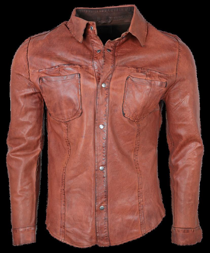 Reverse Shirt, Cognac in 3 Farben, Bild 1