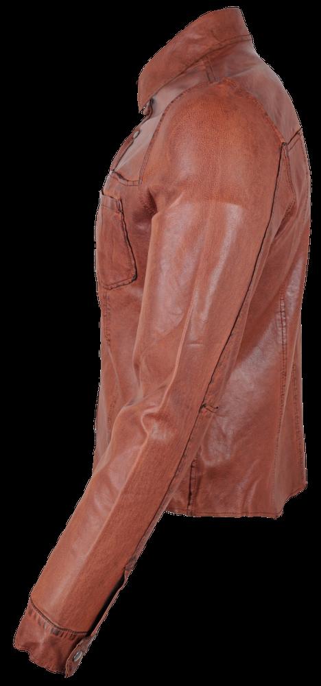 Reverse Shirt, Cognac in 3 Farben, Bild 3