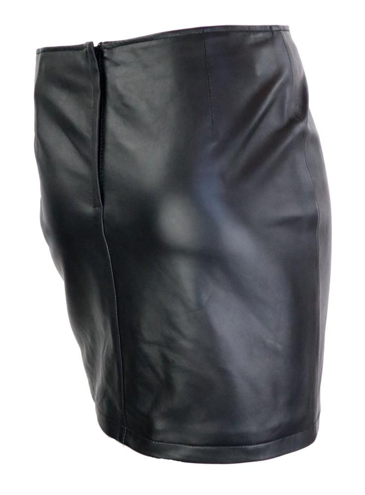 Damen-Lederrock Ria Skirt in 6 Größen, Bild 3