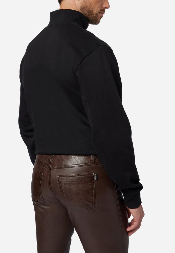 Herren-Lederhose Slim Fit, Braun in 6 Farben, Bild 4